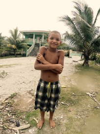 This was my buddy at the Rio Coco beach, Eriol. He was trying to put me in the right place to find some fish. We came up short this time, unfortunately.