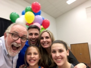 This is the Cougar Moultray family, hanging out with one of our inspirations, Bob Goff, who wrote the book, 'Love Does.'   read his book.   Then, move to Honduras.